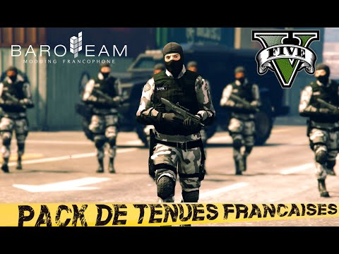 [16+] GTA 5 ★ PACK TENUES FRANCAISES ★ Machinima