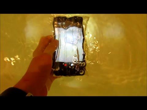 Как сделать водонепроницаемый чехол для телефона?