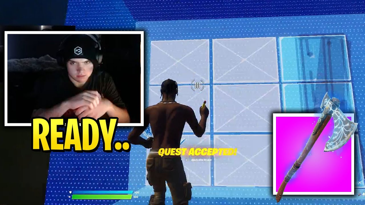 Mongraal Shows Off His Skills in NEW Zone Wars with EPIC Pickaxe!