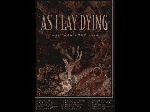 As I Lay Dying announced their first tour in 5 years..!