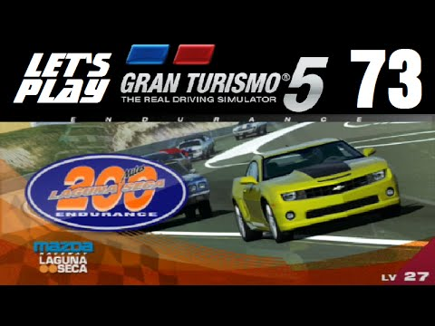 Let's Play Gran Turismo 5 - Part 73 - Laguna Seca 200 Miles