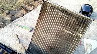 Замена основного радиатора Рено Меган 2