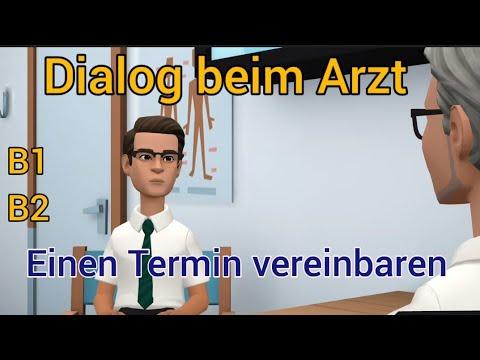 Dialog beim Arzt