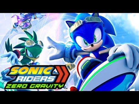 SONIC RIDERS: ZERO GRAVITY All Cutscenes (Heroes Story) Game Movie 1080p HD