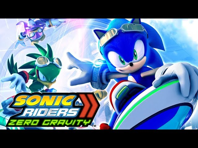 SONIC RIDERS: ZERO GRAVITY All Cutscenes (Heroes Story) Game Movie 1080p HD