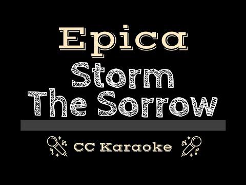 Epica   Storm The Sorrow CC Karaoke Instrumental Lyrics