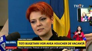 Negocieri pentru salariile din Educaţie: Declaraţiile Liei Olguţa Vasilescu, ministrul Muncii
