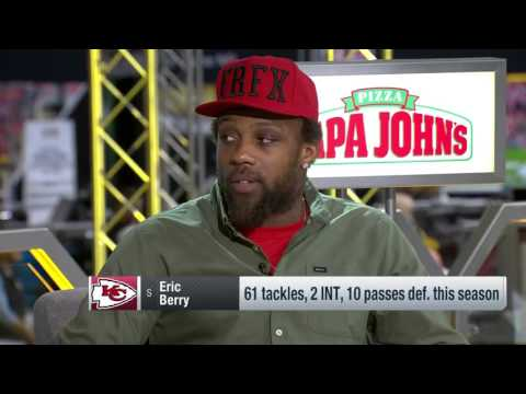 """Eric Berry On Overcoming Cancer,  """"I Had A Great Support System"""" 
