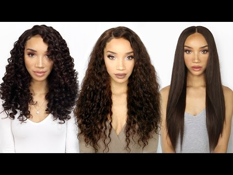 Versatile Lace Wig - THREE Textures in One