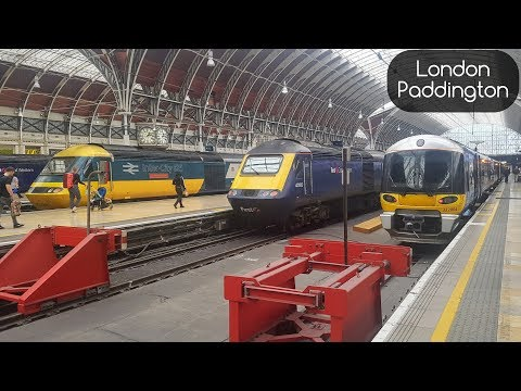 Great Western Railway - London Paddington Trainspotting