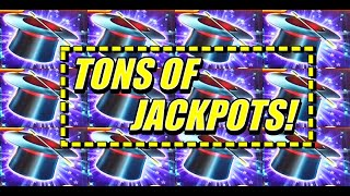 Tons of Jackpot Handpays on Hold Onto Your Hat slot
