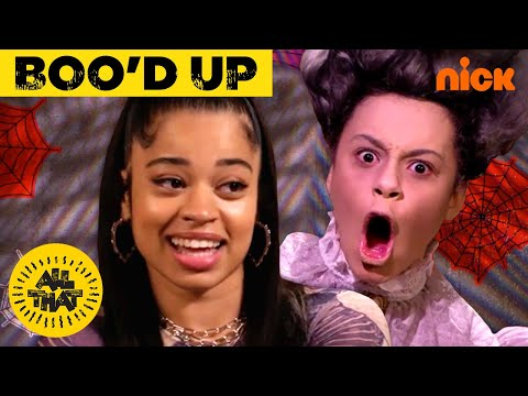 Ella Mai Gets 'Boo'd Up' by Ghosts 👻 on All That!