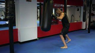 Heavy Bag Tabata High Intensity Boxing Training