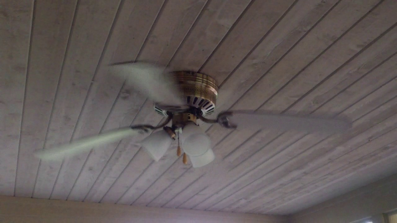 52 hampton bay chatham ceiling fan youtube - Little max ceiling fan ...
