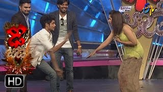 Funny Task | Dhee Jodi | 5th April 2017 | ETV Telugu