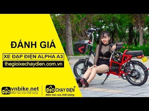 Đánh giá xe đạp điện Alpha A3