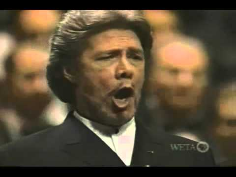 "Ramey, Hvorostovsky ""Il rival...Suoni la tromba intrepido"" - Gala Tucker '99"
