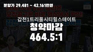 [분양알리미] 갑천1트…