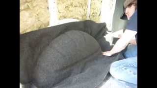 How to carpet a VW T5 wheel arch...