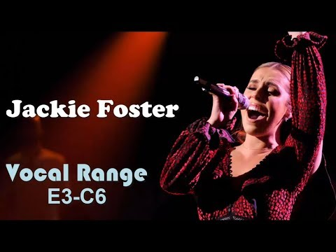 Jackie Foster [The Voice] - Live Vocal Range (E3-C6)