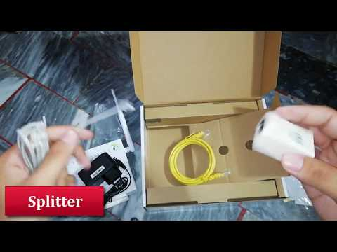 VDSL2 Ptcl New Modem Unboxing & Review