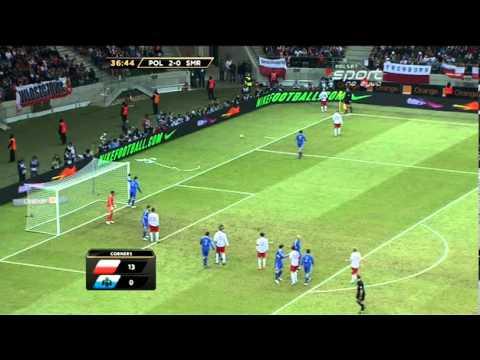 El. MŚ 2014: Polska-San Marino 5:0 [SKRÓT, BRAMKI]