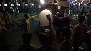 2018年7月13日 三重県四日市市 聖武天皇社前.