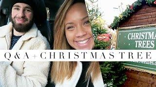 Impromptu Q + Getting the Christmas Tree! | ad