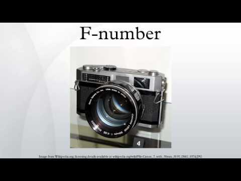 F-number