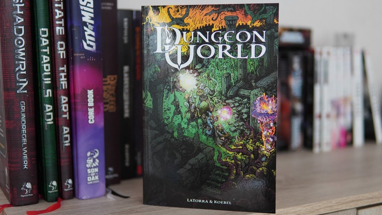 Dungeon World – Rules Explanation + Character Creation