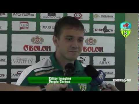 Alexandru Dedov (INTERVIEW after, post match) FC Academia - Zimbru 0-3 (10.08.13) DN 2013-14, week 3