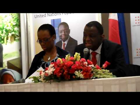 UNFPA Executive Director Dr. Babatunde Osotimehin talks about Maternal Health