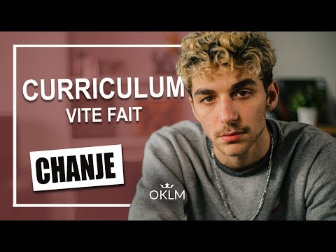Youtube: CHANJE – Curriculum Vite Fait