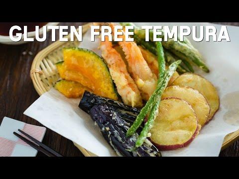 How To Make Gluten Free Tempura (Recipe) グルテンフリー天ぷらの作り方(レシピ)