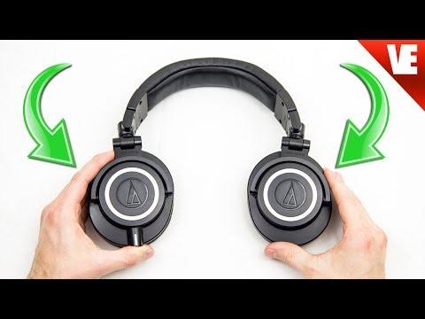 Simple Upgrade: Audio Technica ATH-M50x