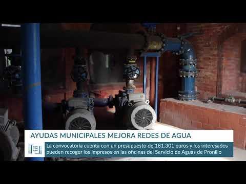 Ayudas municipales para mejorar las redes de agua