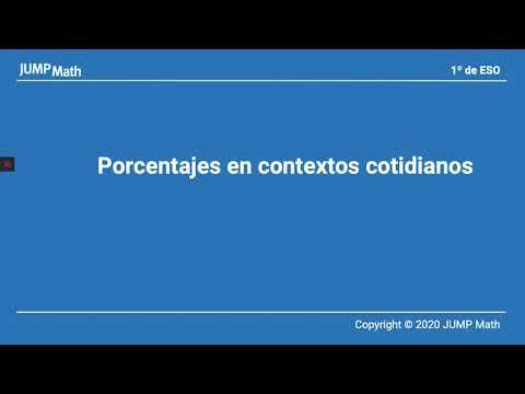 1º ESO. Unidad 5. Porcentajes en contextos cotidianos
