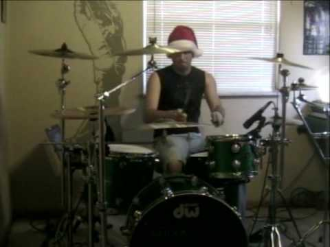 Carol of the Bells - Family Force 5 - drum cover - Kaleb