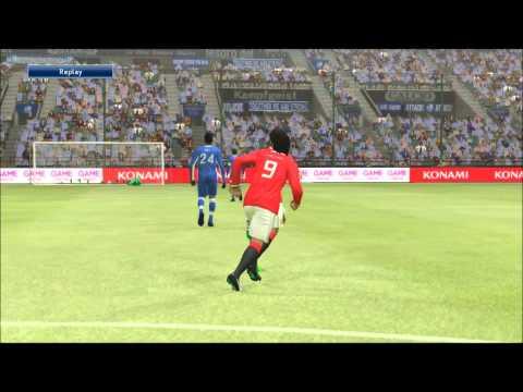 PES 2015 | Di Maria Amazing Knuckleball Goal