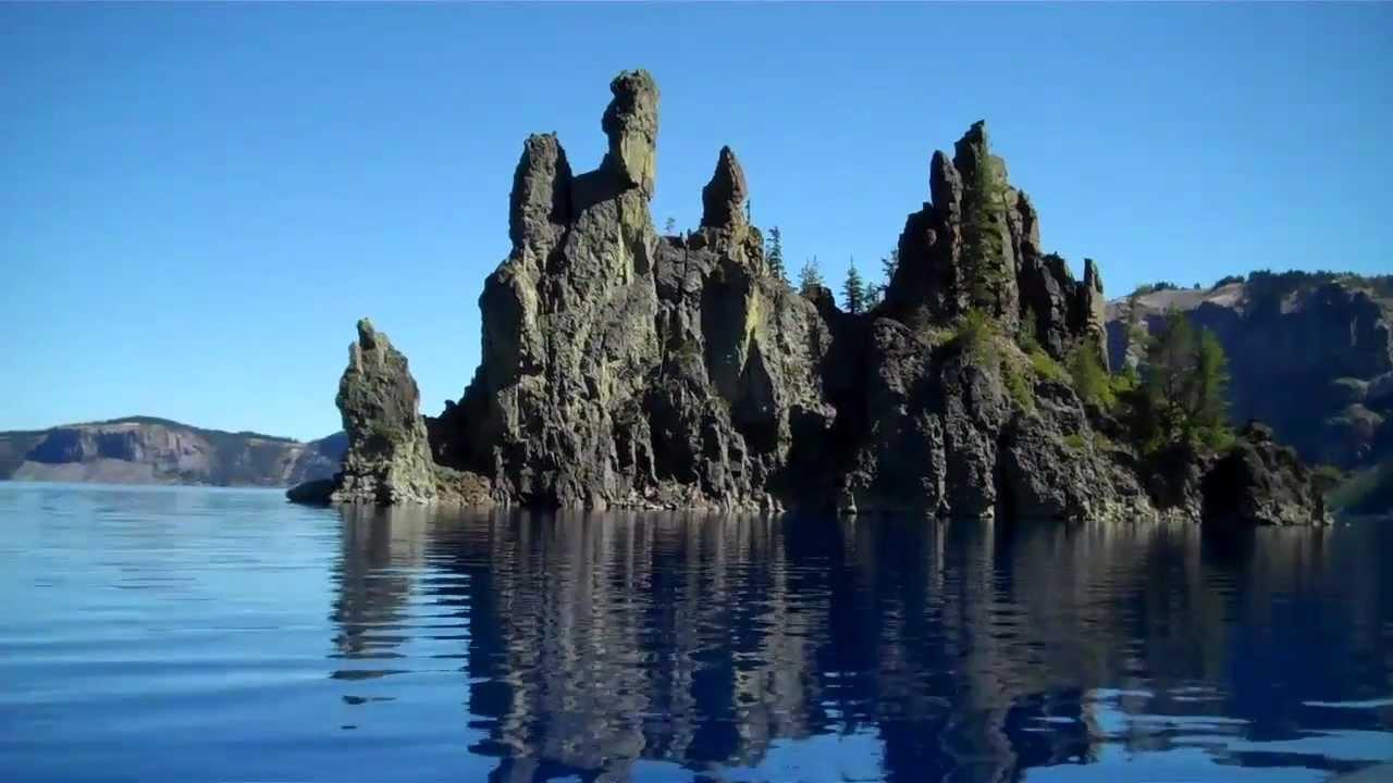 Phantom Ship At Crater Lake Oregon Youtube