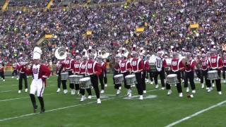 Wisconsin Marching Band - Lambeau Field - Halftime Show