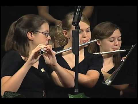 """""""The Old Rugged Cross"""" - MS Baptist All-State Youth Choir & Orchestra 2009"""