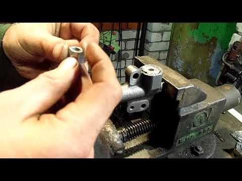 ремонт натяжителя на ХОВЕР H3