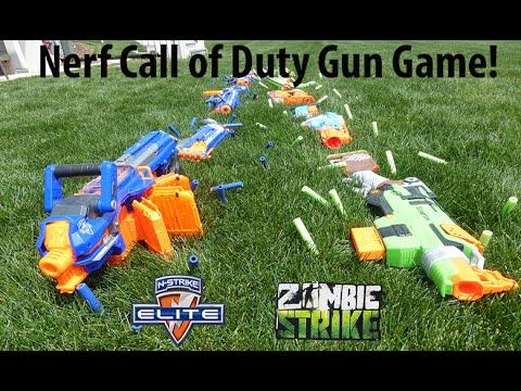 Nerf gun game zombiestrike vs elite youtube