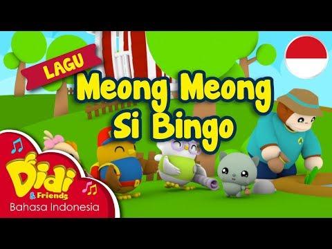 Lagu Anak-Anak Indonesia | Didi & Friends | Meong Meong Si Bingo