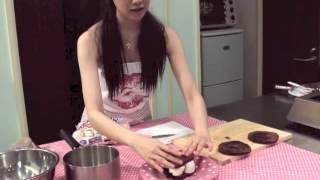 甜點主廚Queenie(葵妮)教你五分鐘做濃情巧克力蛋糕-天天情人節