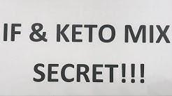 Intermittent Fasting & KETO Diet Mix Secret!!!