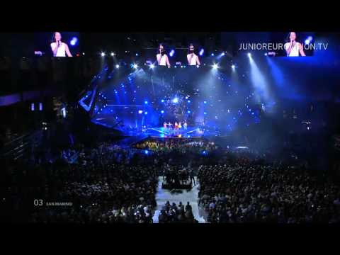 The Peppermints - Breaking My Heart (San Marino) LIVE Junior Eurovision Song Contest 2014