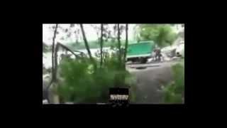 ШОКИРУЮЩЕЕ ВИДЕО!  Вновь идут бои  в районе горы Карачун под Славянском УКРАИНА 27 06 2014