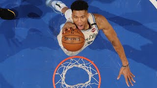 Giannis Antetokounmpo Pre All-Star 2020 Highlights | Best Dunks, Blocks, Dishes & More